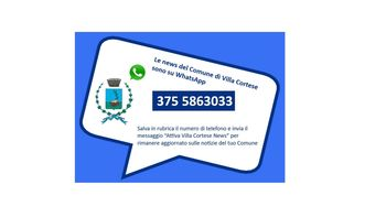 Villa Cortese News - WhatsApp